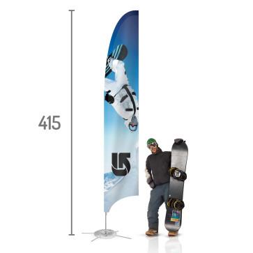 Feather Beach Flag L | visionexposystems.com