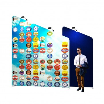 Vision wave large display wall | visionexposystems.com