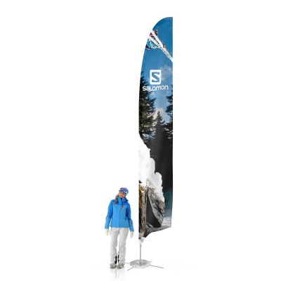 Feather beach flag XL | visionexposystems.com