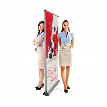Roll-up banner Double 085 | trademedia.ro