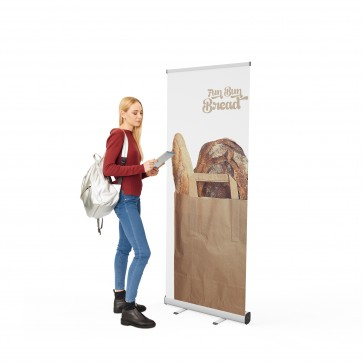 Roll-up banner VISION 085 | trademedia.ro