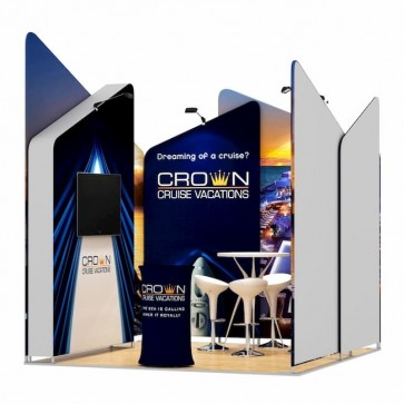 3x3-1C Stand Expozitional Croaziere