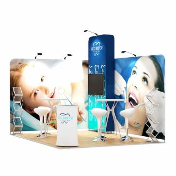 3x4-2B Stand Expozitional Cabinet Stomatologic