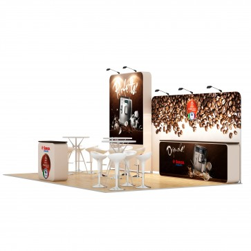 4x6-3C Stand Expozitional Aparate Cafea