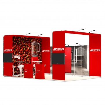 4x6-2D Stand Expozitional Electrocasnice