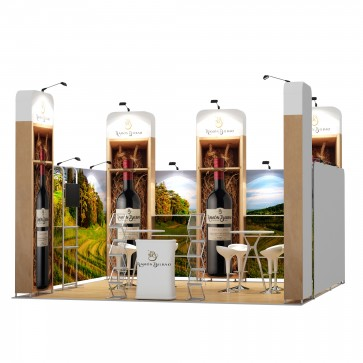 5x5-1A Stand Expozitional Crama Vinuri