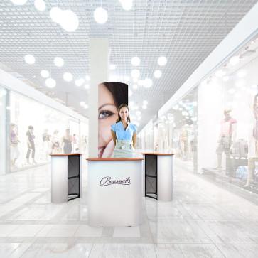 Stand prezentare Mall 05 - Salon Cosmetica