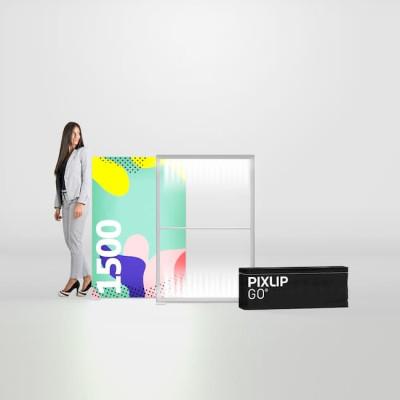 Caseta luminoasa PIXLIP GO 100x150