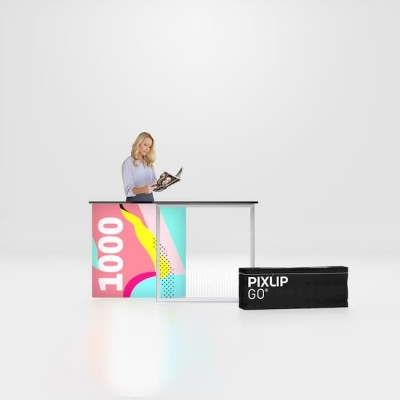 Masa publicitara PIXLIP GO 100x100