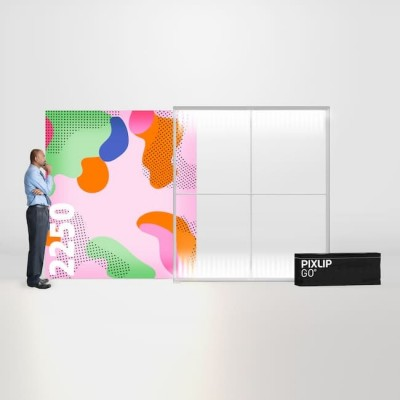 Caseta luminoasa PIXLIP GO 200x225