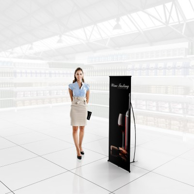 Stand prezentare Hypermarket 02 - vinuri