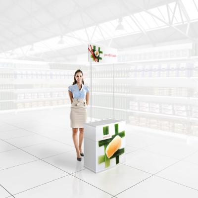 Stand prezentare Hypermarket 03 - Sushi