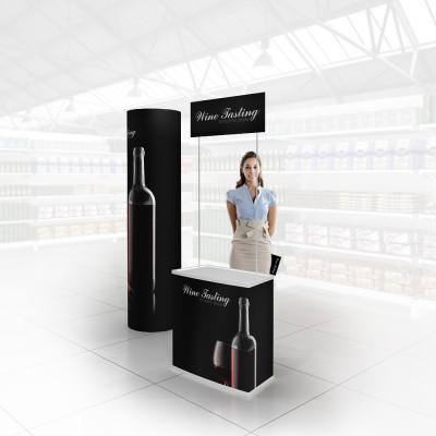 Stand prezentare Hypermarket 01 - Vinuri