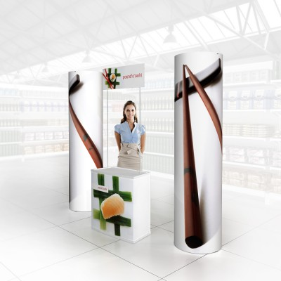 Stand prezentare Hypermarket 12 - Sushi