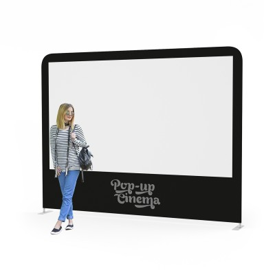 Pop-up Cinema Screen Standalone L