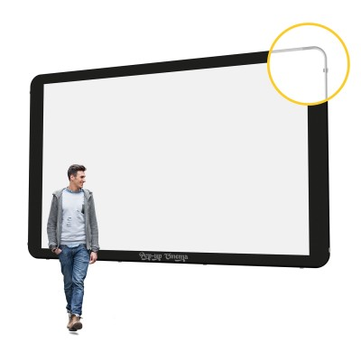 Pop-up Cinema Screen Wall XL