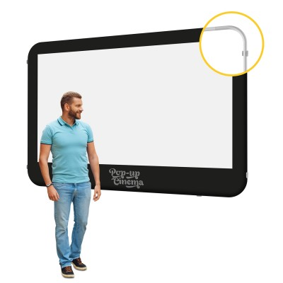 Pop-up Cinema Screen Wall L