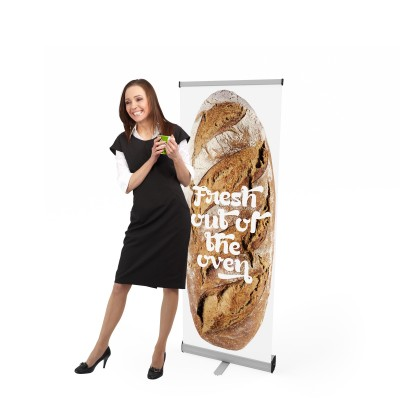 Roll-up banner VISION 060 | trademedia.ro