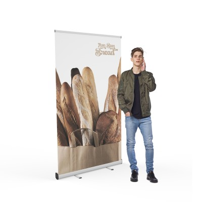 Roll-up banner VISION 120 | trademedia.ro