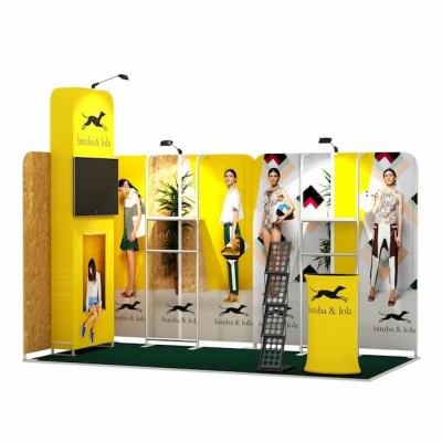2x4-2D Stand Expozitional Articole Vestimentare