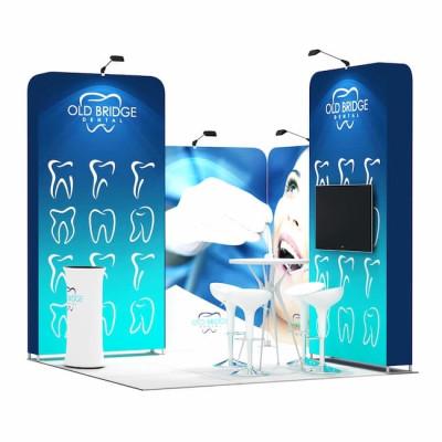 3x3-2C Stand Expozitional Cabinet Stomatologic