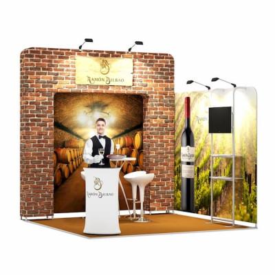 3x3-2D Stand Expozitional Crama Vinuri