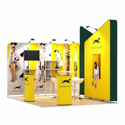 3x4-2D Stand Expozitional Articole Vestimentare
