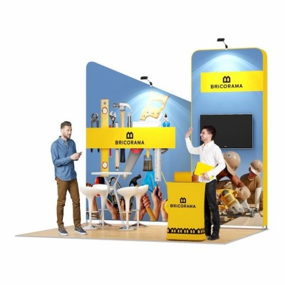 3x4-3B Stand Expozitional Produse Bricolaj