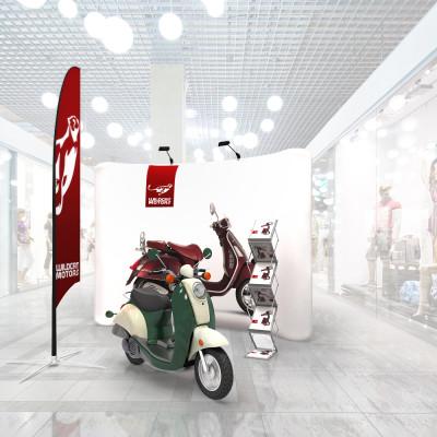 Stand prezentare Mall 09 - Auto / Moto