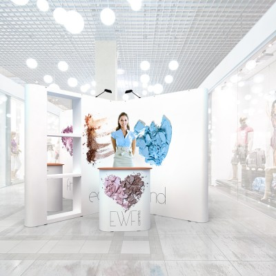 Stand prezentare Mall 11 - Cosmetice
