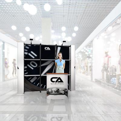 Stand prezentare Mall 06 - Ceasuri