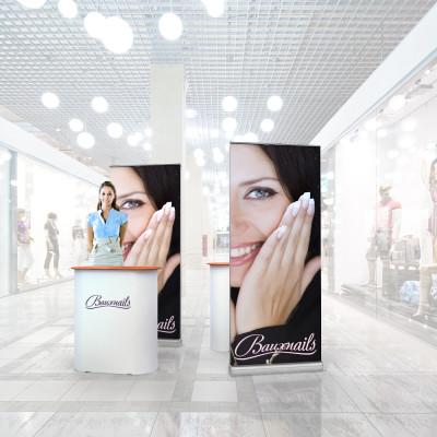 Stand prezentare Mall 04 - Salon Cosmetica