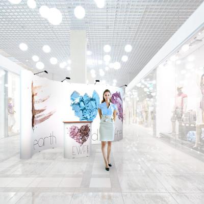 Stand prezentare Mall 08 - Cosmetice