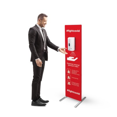 Statie dezinfectare dispenser automat
