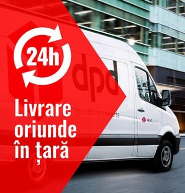 Transport oriunde in tara in 24 ore